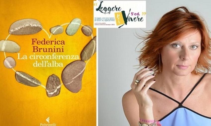 """Torna """"Leggere per Vivere"""": la V edizione parte domani con Federica Brunini e 'La circonferenza dell'alba'"""