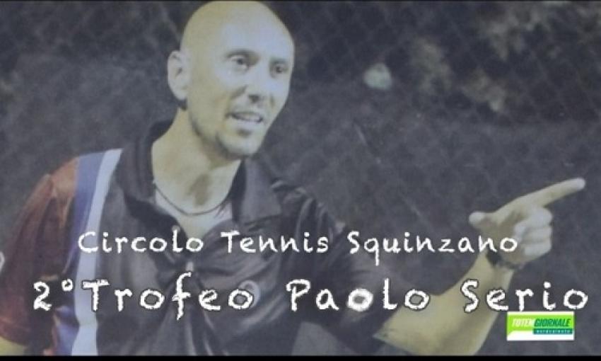 Circolo Tennis Squinzano. 2° Trofeo Paolo Serio. Le interviste al Presidente e ai semifinalisti