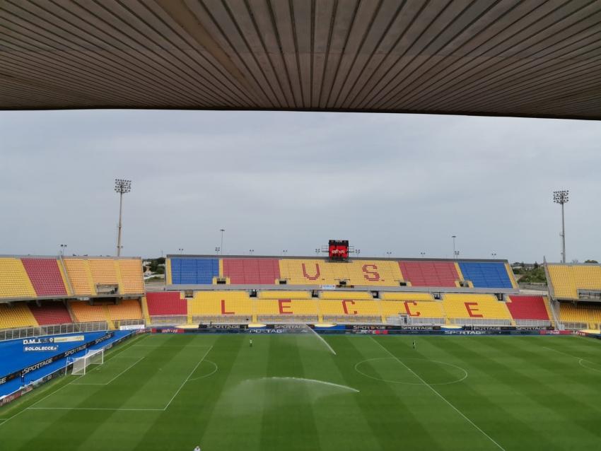 Stadio in gestione all'U.S. Lecce per i prossimi dieci anni
