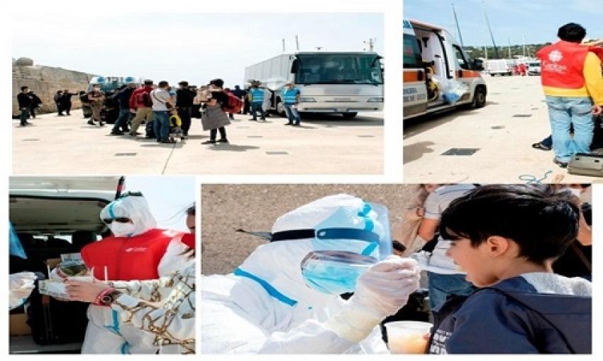 Nei primi 4 mesi del 2021 la Caritas Diocesana ha assistito e rifocillato 386 migranti sbarcati a Leuca