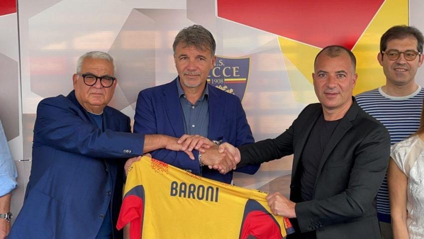 """Lecce, Baroni-day:""""Non vedo l'ora di partire"""". Raduno in sede previsto per l'otto luglio"""