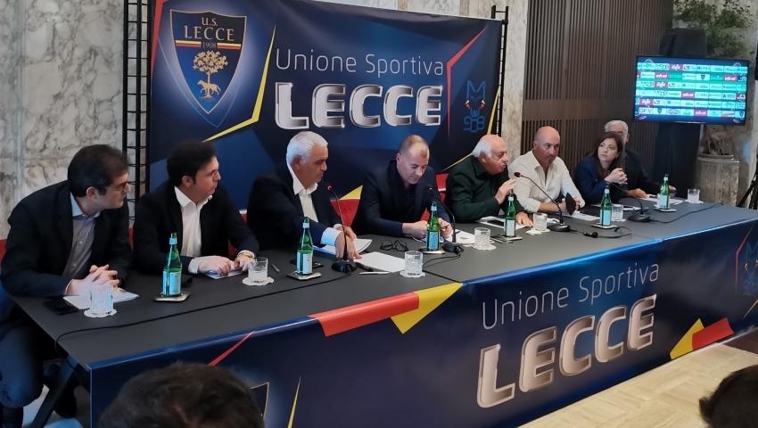 U.S. Lecce a 360°: Sticchi Damiani, Corvino e De Piciotto presentano la nuova stagione