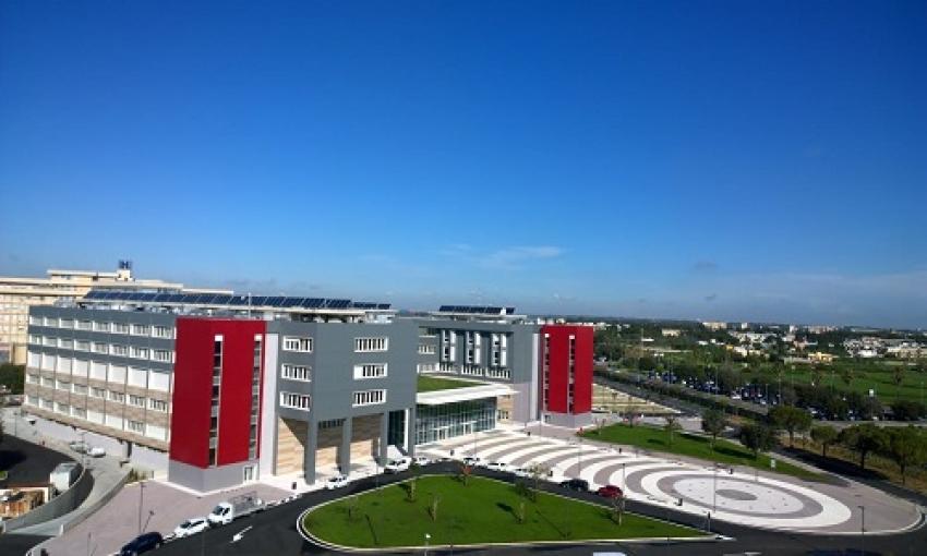 Primo accesso di un familiare nella terapia intensiva Covid DEA di Lecce