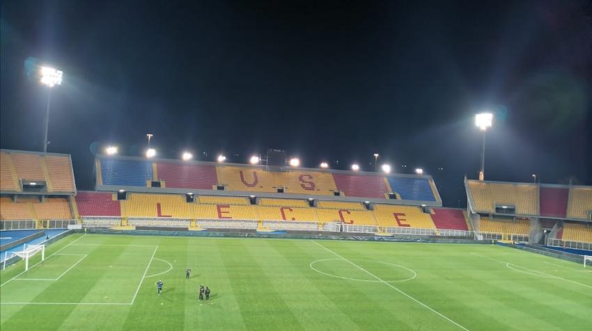 Lecce in doppio vantaggio si fa rimontare in zona Cesarini